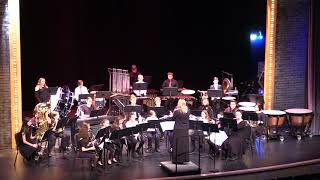 Winthrop High School and Middle School Bands - A Winter Concert