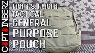 General Purpose Pouch by Fight & Flight Tactical