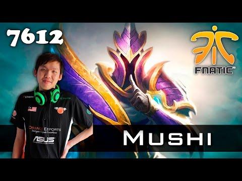 Mushi Silencer - 7612 MMR Fnatic Dota 2