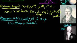(PP 6.1) Multivariate Gaussian - definition