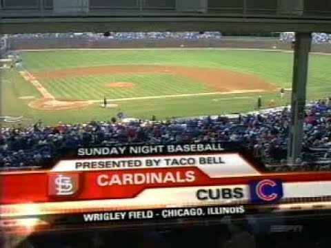 5 - Cardinals at Cubs - Sunday, April 9, 2006 - 7:05pm CDT - ESPN