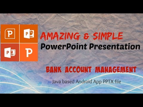 powerpoint-presensentation-of-android-app-project-show- bank-account-management