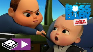 The Boss Baby: Back In Business | Car Intruder! | Boomerang UK 🇬🇧