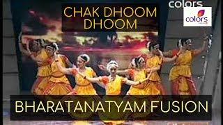 Kruti performs Bharata Natyam on Chak Dhoom Dhoom