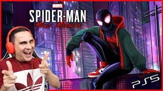 SPIDER-MANAAAA! ON PS5! (Spider-Man: Miles Morales)