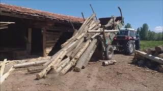 köye ucuz ev yapacak olanlar için I kerestede maliyet nasıl düşer I kereste nasıl elde edilir I izle