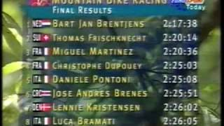 Video 1996 Olympics Atlanta the First Mountain Bike Race won by Bart Brentjens NL download MP3, 3GP, MP4, WEBM, AVI, FLV Agustus 2018
