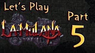 Lets Play (PL) La Mulana part 5 - Zabójcze spojrzenie