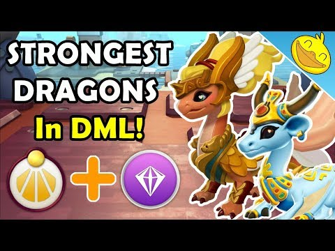 Top 5 STRONGEST DRAGONS In DML! (Divine + Legendary Dragons 2018)
