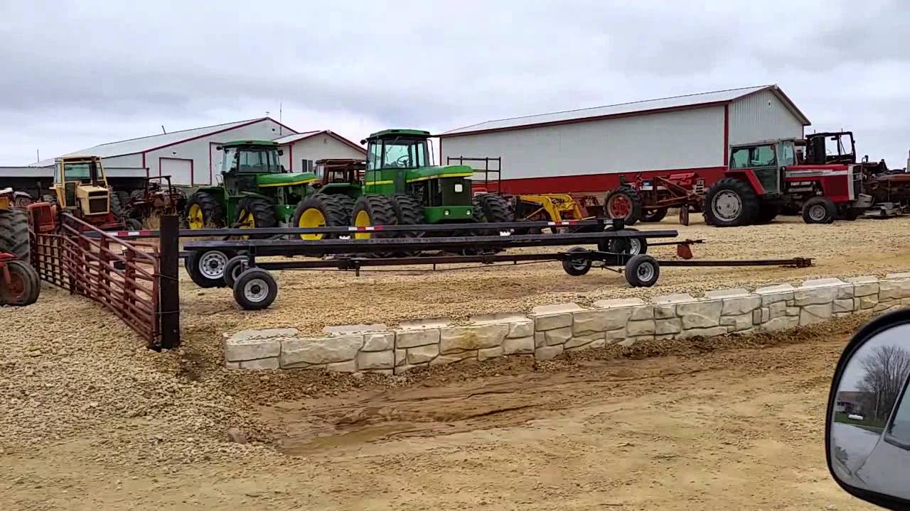 Lawn Tractor Salvage Yards : Tractor salvage yard youtube