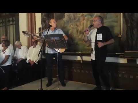 Joaquim D'Aboim em dueto com Rui Machado - Eu ando de chinelos