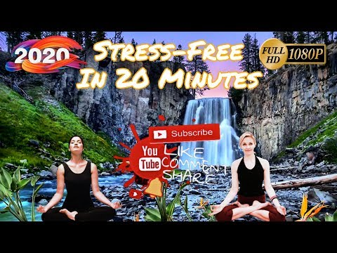 Stress-Free Just in 20 MINUTES *Calm Music with Beautiful Nature Videos 2020*