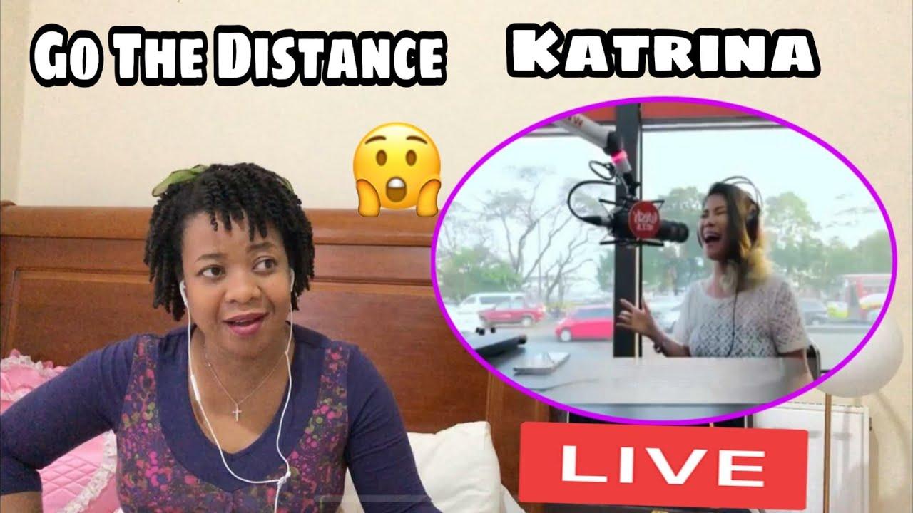 Katrina Velarde Go the distance LIVE Reaction