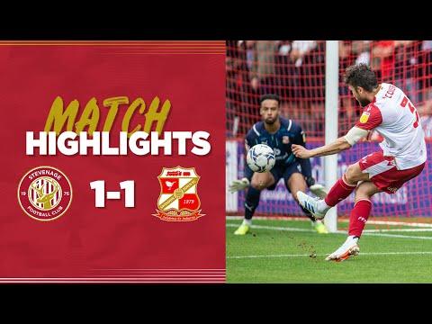 Stevenage Swindon Goals And Highlights