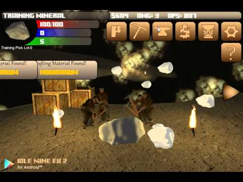 Idle Mine EX 2 GamePlay #1
