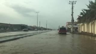 بالفيديو.. شوارع المدينة المنورة تغرق بسبب انفجار أنبوب مياه - صحيفة صدى الالكترونية
