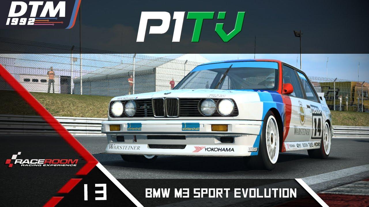 R3E Singleplayer #13 - BMW M3 Sport Evolution DTM | Brands ...