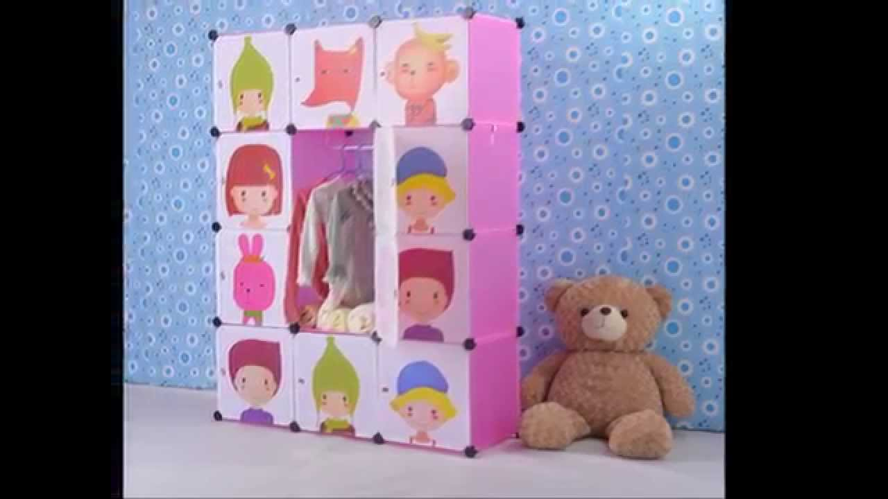 Cube It All   Colourful And Innovative Kids Storage Solutions From Best  Desk   YouTube