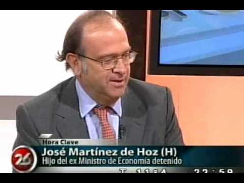 Designaron al hijo de Martínez de Hoz en el Instituto Nacional de la Propiedad Industrial