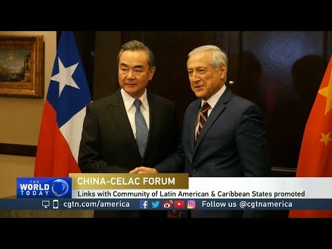China's Wang Yi wooing South American and Caribbean FMs in Santiago