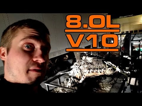 I Bought An 8.0L V10 Engine… For My Subaru!