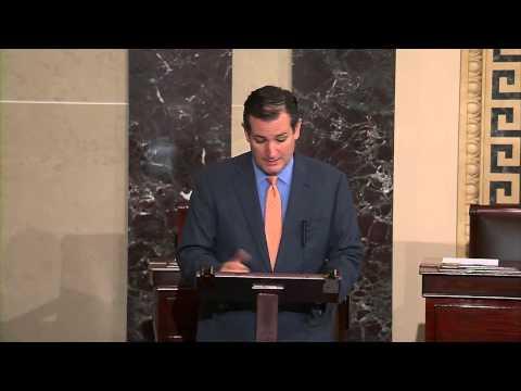 Sen. Ted Cruz Asks Unanimous Consent to Pass Expatriate Terrorist Act of 2014