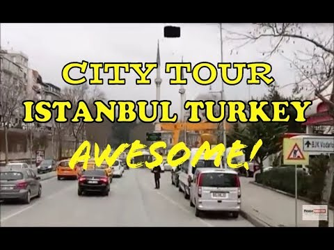 Awesome ! Video Turkey Istanbul City Tour 2018 Really Nice Traffic