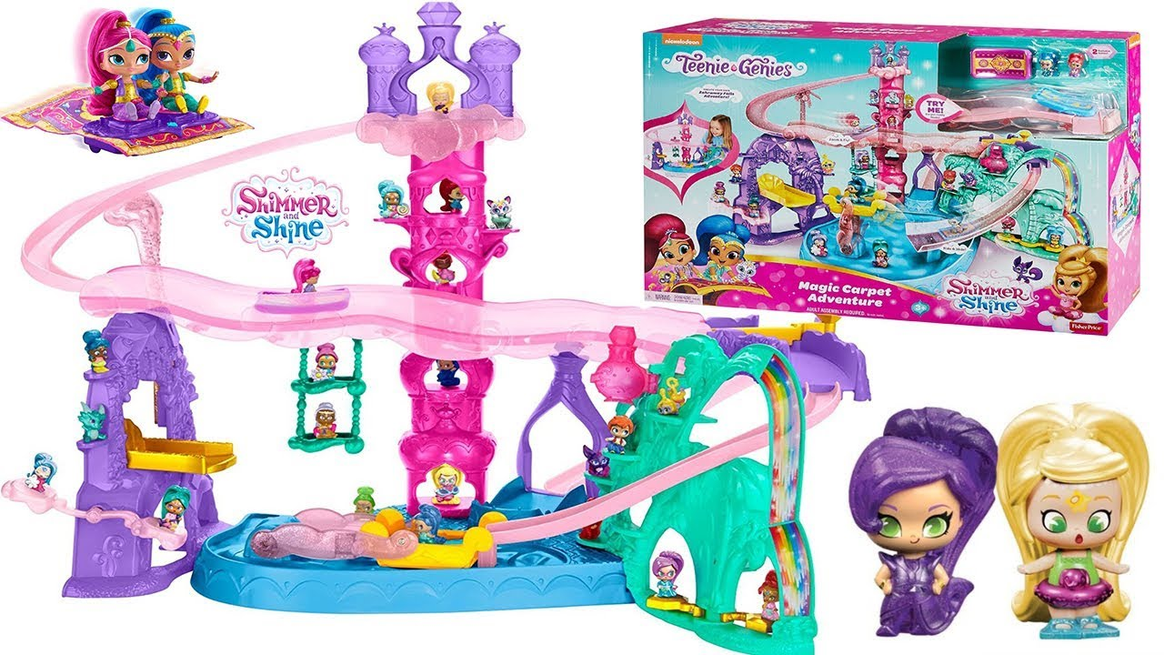 Shimmer And Shine Teenie Genie Magic Carpet Adventure