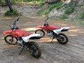 Messing Around With 80cc Honda Dirt Bikes!!!