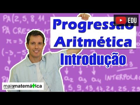 Progressão Aritmética PA: Introdução (aula 1 de 6) thumbnail