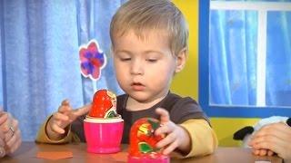 видео Развивающие игры с матрёшкой для детей