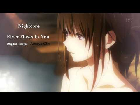 Nightcore - River Flows In You (Lyrics)