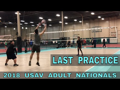 Last Volleyball Practice Before USAV Nationals VLOG
