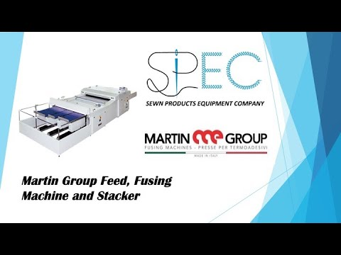 Martin Group Feeder, Fusing System And Stacker | Top-of-the-Line Equipment For Production