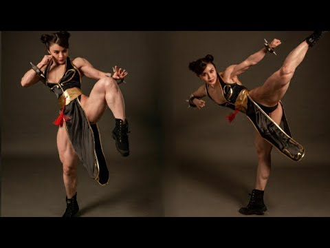 YUAN HERONG, FEMALES BODYBUILDING, GYM WORKOUT, IFBB MUSCLE