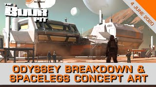Elite Dangerous: Odyssey Breakdown, Spacelegs Concept Art Revealed, VR Support Latest