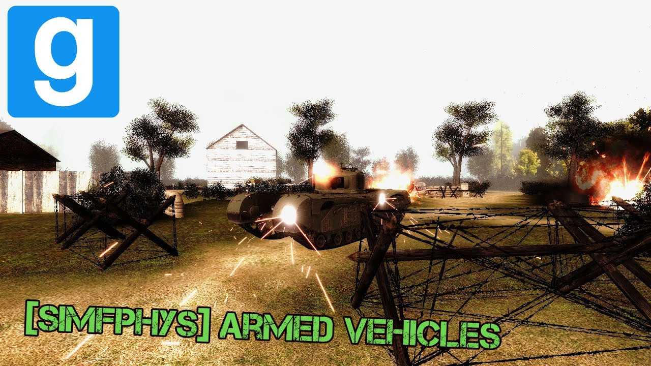 Gmod Addons: [Simfphys] Armed Vehicles