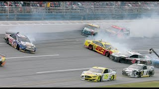 Exclusive slow motion video | 'The Big One' unfolds at Talladega | NASCAR Cup Series Playoffs