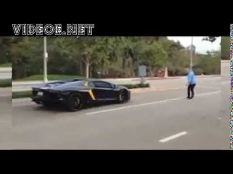 'Keep racing...keep doing it': Viral video shows angry pedestrian smash a $400,000 Lamborghini with
