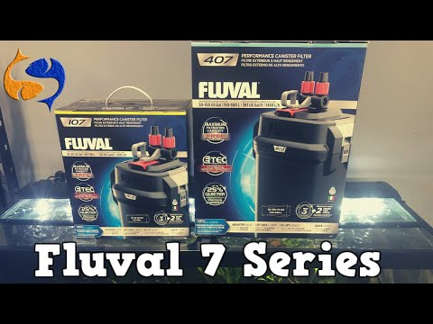 Are These Canister Filters Any Good? Fluval 7 Series Install and Review!