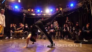 KIERAN vs CLOCKS EXHIBITION BATTLE DDL 2019 Dexterity Dance League Japan