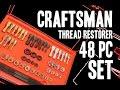 Craftsman 48-pc Thread Restorer Master Kit (Snap-on RTD48 / MAC TRCOMBO-48)