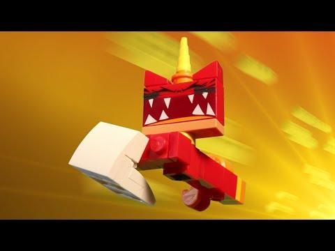 """LEGO Unikitty! """"Throwing Down"""""""