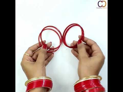 5 Best Easy Bangle Making Ideas I Silk Thread Bangles Compilation I Creative Diaries