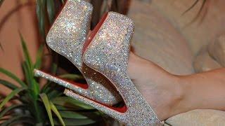 видео Свадебные туфли на высоком каблуке