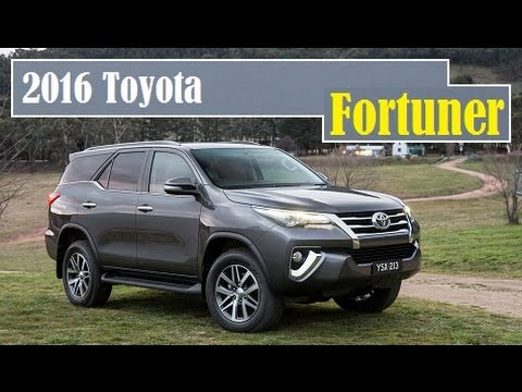 2016 Toyota Fortuner This Is It Finally Decided To Unveil In