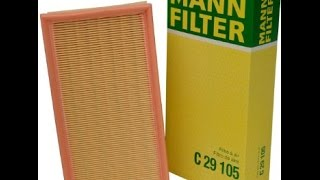 BMW e53 x5 engine Air Filter replacement quickly and correctly