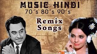 Kishore Kumar | DJ Hindi Old Songs Remix 90's | Music Hindi 90's