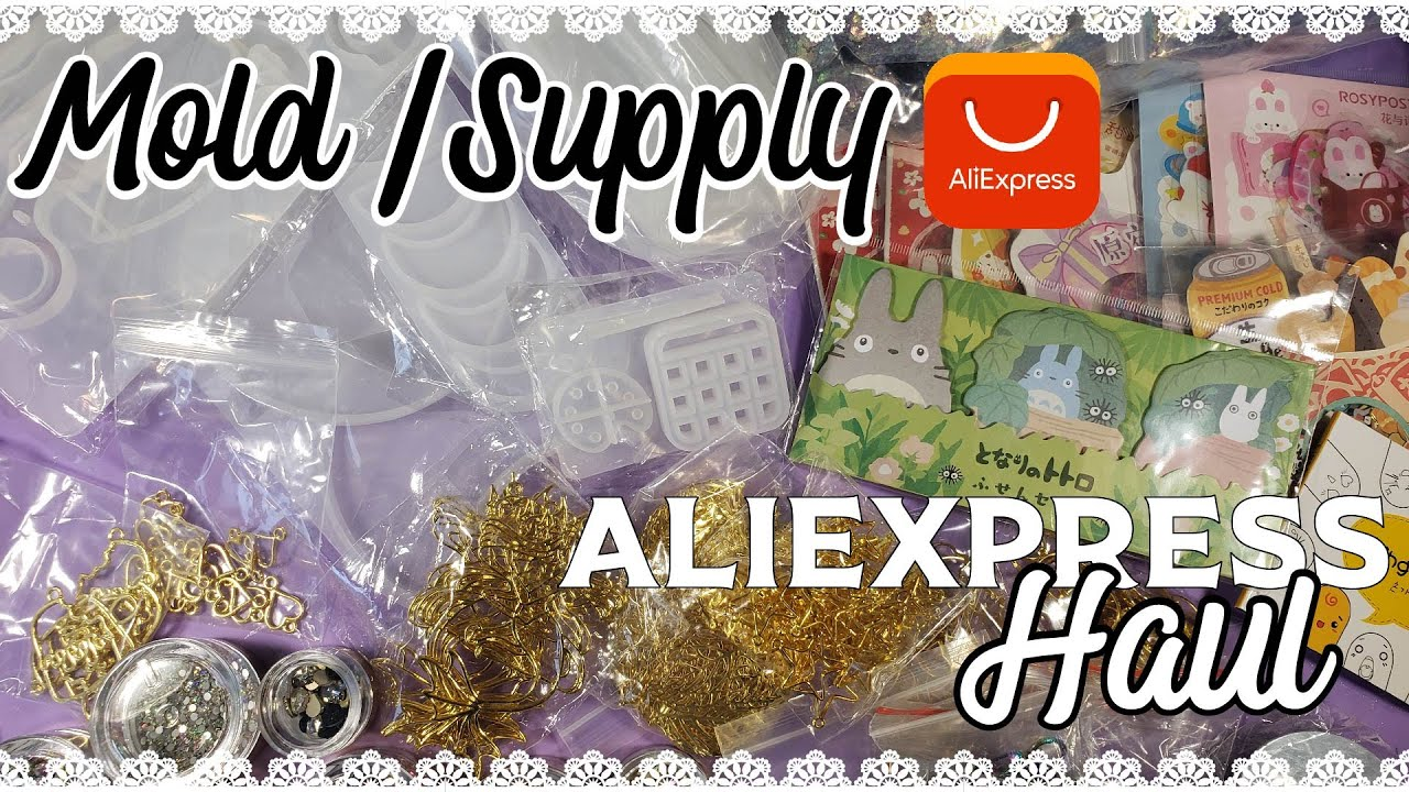Aliexpress Mega Haul - Resin Mold Stationery Supply Unboxing #2