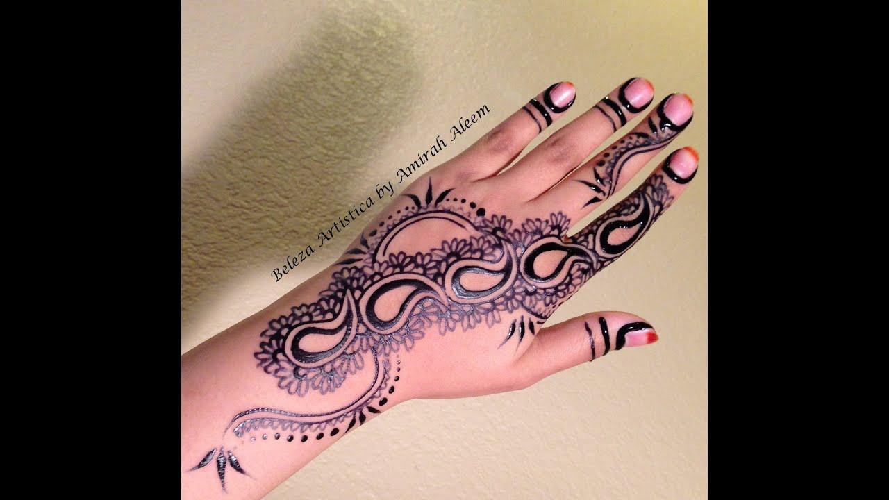 Khaleeji Henna Designs Tattoo: Khaleeji Jagua Design